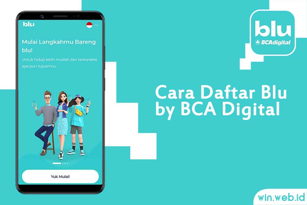 Cara Daftar blu by BCA Digital