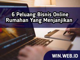 6 peluang bisnis online rumahan yang menjanjikan