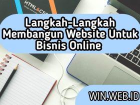 Langkah-:angkah Membangun Website Untuk Bisnis Online