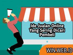 ide jualan online yang sering dicari pembeli