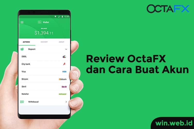 Review dan cara daftar octafx